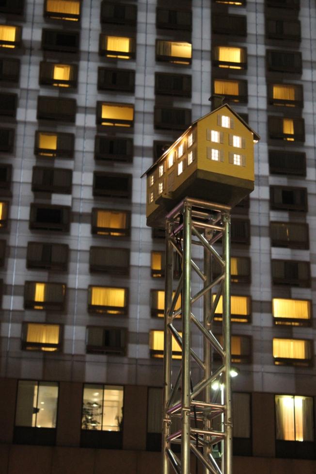 Atsa (Action Terroriste Socialement Acceptable), La petite maison jaune, Fin Novembre 2012